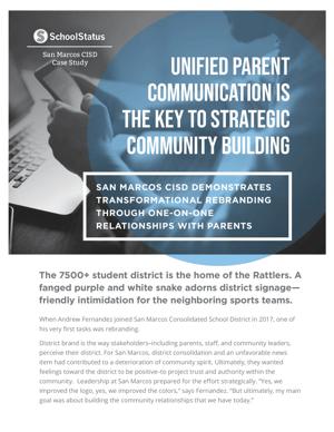 Unified Parent Communications with SchoolStatus
