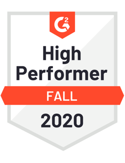 G2 Rates SchoolStatus High Performer Fall 2020